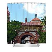Fabulous Flagler College Shower Curtain
