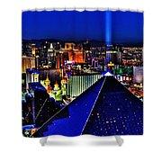 Fabulous Las Vegas Shower Curtain