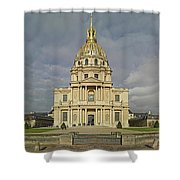 Facade Of The St-louis-des-invalides Shower Curtain