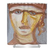 Face Five Shower Curtain