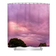 Face In The Clouds 1 Shower Curtain