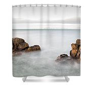 Ballycastle - Face In The Rock Shower Curtain