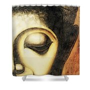 Face Lux Shower Curtain