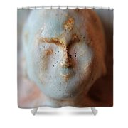 Face Of Buda  Shower Curtain