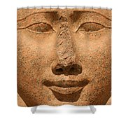 Face Of Hathor Shower Curtain