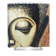 Face Pastel Chalk 2 Shower Curtain
