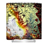 Faces 8 Shower Curtain