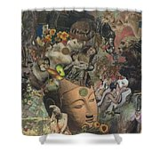 Faces Of Eternity Shower Curtain