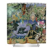 Faces Of Rebirth Shower Curtain