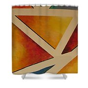 Facets 4 Shower Curtain