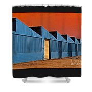 Factory Building Shower Curtain