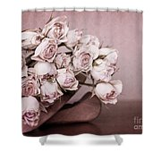 Fade Away Shower Curtain by Priska Wettstein