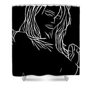 Fade To Gray Shower Curtain