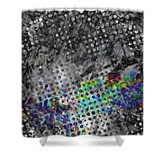 Fade To Grey Shower Curtain