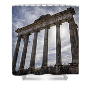 Faded Glory Of Rome Shower Curtain