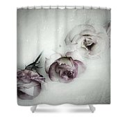 Fading Feelings Shower Curtain