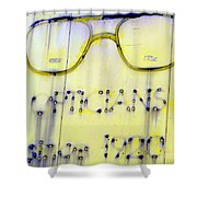 Fading Vision Shower Curtain
