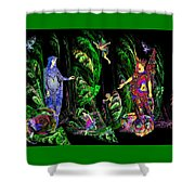 Faery Forest Shower Curtain