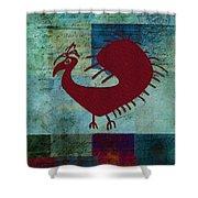 Fafa Bird - 01c01bcr Shower Curtain