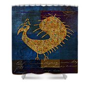 Fafa Bird - 01c04alss Shower Curtain