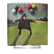 Failure To Launch Shower Curtain