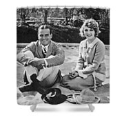 Fairbanks And Pickford Shower Curtain