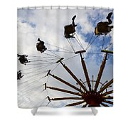 Fairground Fun 3 Shower Curtain