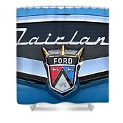 Fairlane Name Plate Shower Curtain