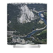 Fairmont Banff Springs Hotel And Golf Course Shower Curtain