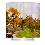 Fairmount View Shower Curtain