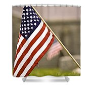 Fairview America Shower Curtain