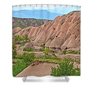 Fairy Chimneys In The Making In Cappadocia-turkey Shower Curtain