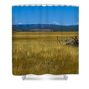 Fairy Falls Valley Shower Curtain
