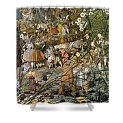 Fairy Fellers Master-stroke Shower Curtain