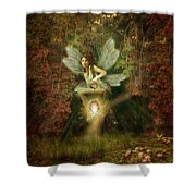 Fairy Forest Lake Shower Curtain