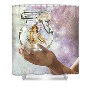 Fairy Shower Curtain by Juli Scalzi