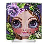 Fairy Of The Insects Shower Curtain