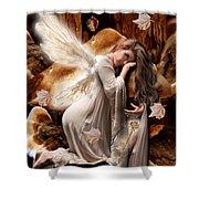 Fairy Of The Key Shower Curtain