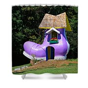 Fairy Tale Shoe House Shower Curtain