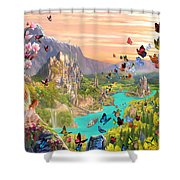Fairy Valley Shower Curtain