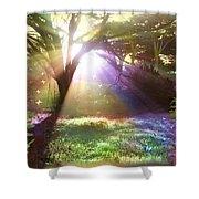 Fairyland Sunset Shower Curtain