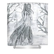 Fairytale Winter Shower Curtain