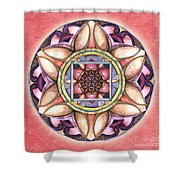 Faith Mandala Shower Curtain