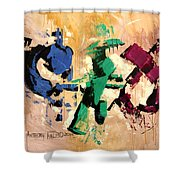 Faith That Is Not Seen Shower Curtain by Anthony Falbo