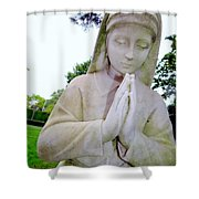 Faithful Fran Shower Curtain