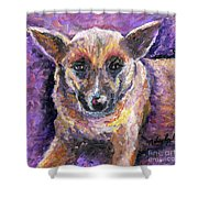 Faithful Friend Shower Curtain