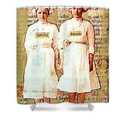 Faithful Friends Shower Curtain