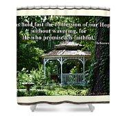 Faithful Shower Curtain