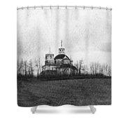 Faiths Hill Shower Curtain