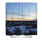 Fajada Sunset Shower Curtain